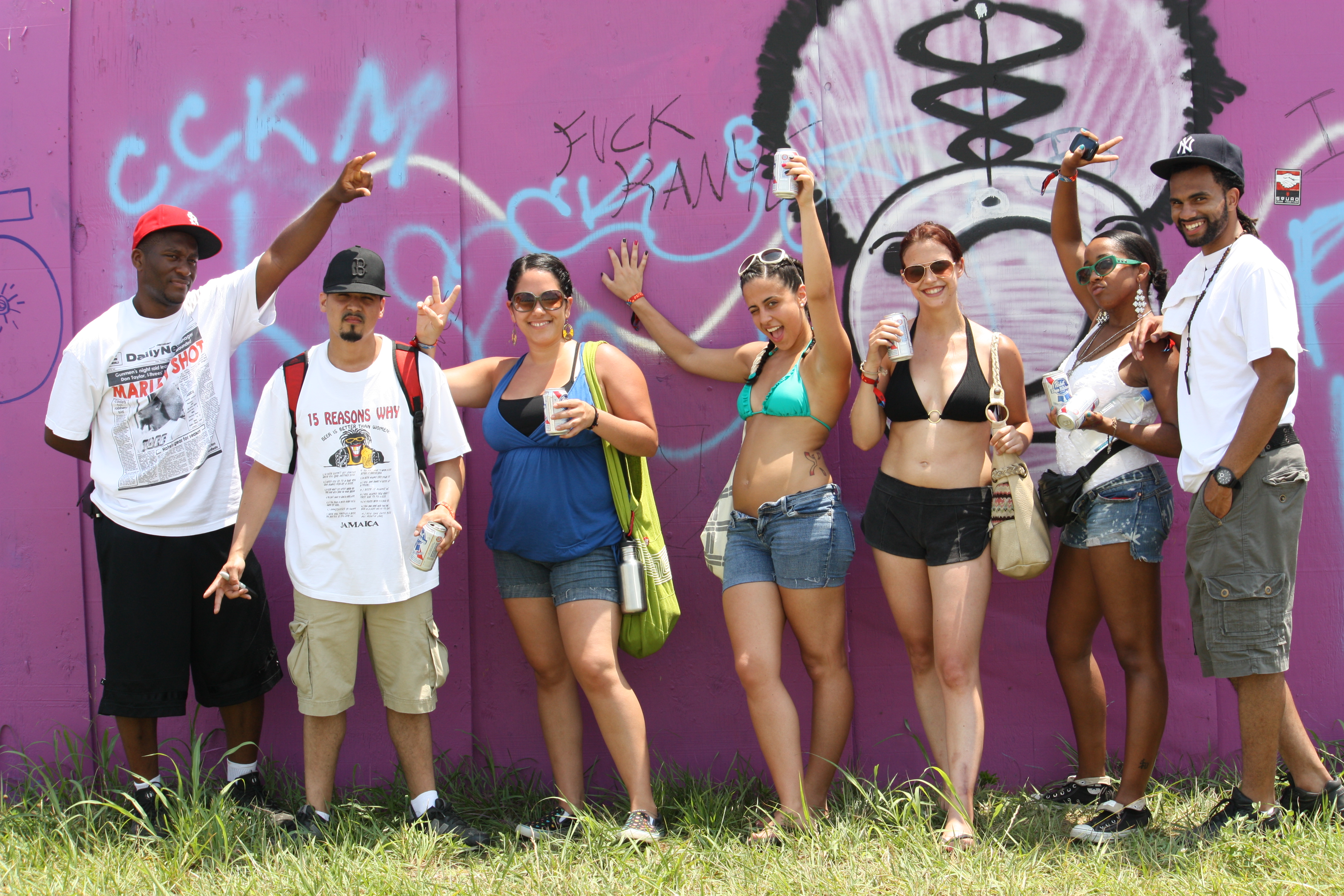 The Philly & Brooklyn crew at Bonnaroo